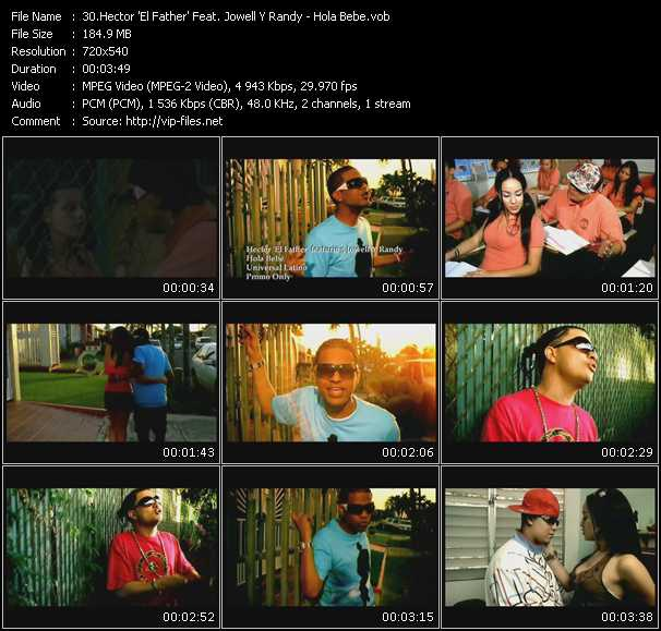 Hector El Father Feat. Jowell And Randy video vob