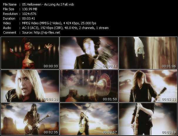 Screenshot of Music Video Helloween - As Long As I Fall