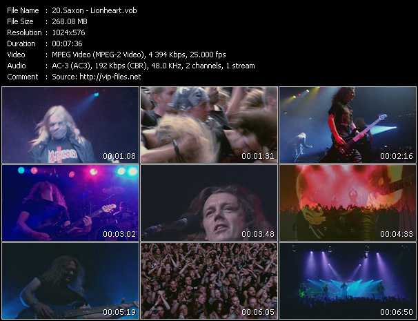 Saxon video vob