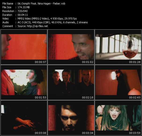 Oomph! Feat. Nina Hagen video vob