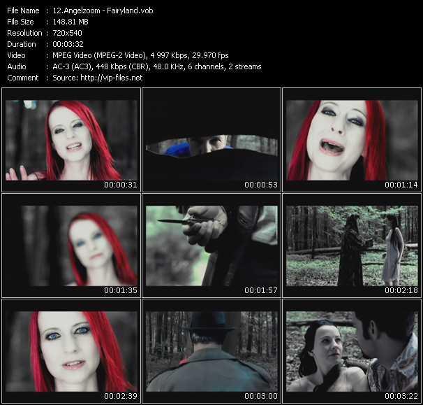 Screenshot of Music Video Angelzoom - Fairyland