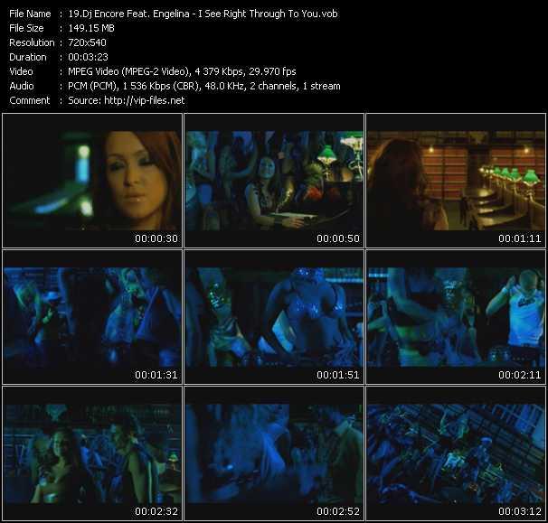 Dj Encore Feat. Engelina video vob