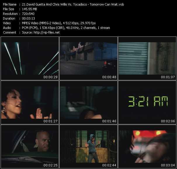 David Guetta And Chris Willis Vs. Tocadisco video vob