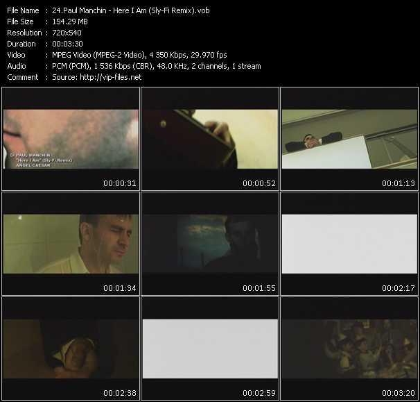 Paul Manchin video vob