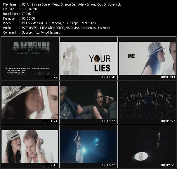 Armin Van Buuren Feat. Sharon Den Adel video vob