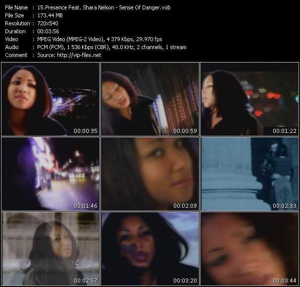 Presence Feat. Shara Nelson видеоклип vob