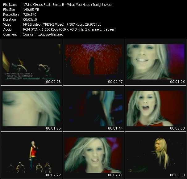 Nu Circles Feat. Emma B. video vob