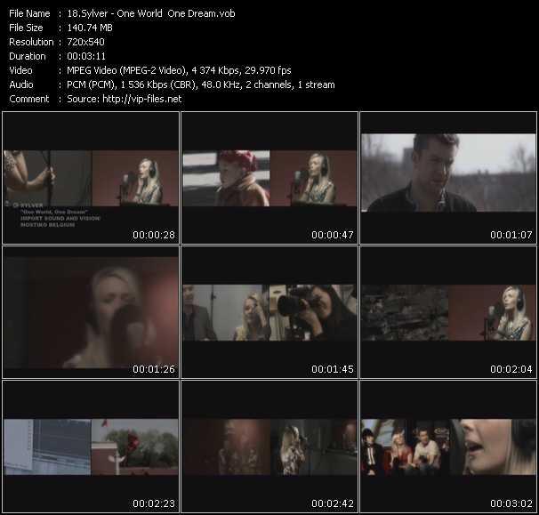 Sylver video vob