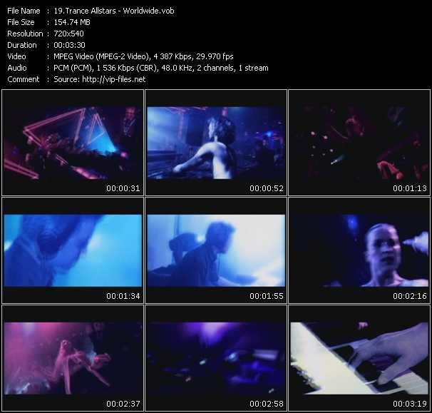 Trance Allstars video vob