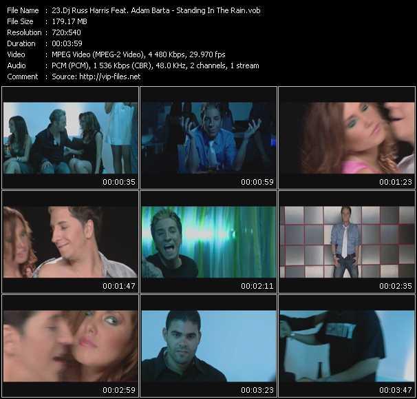 Dj Russ Harris Feat. Adam Barta video vob