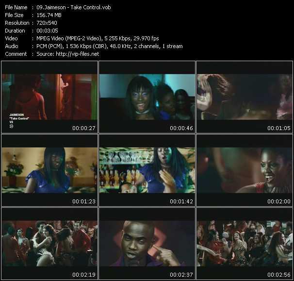 Screenshot of Music Video Jaimeson - Take Control