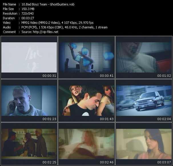 Screenshot of Music Video Bad Boyz DJ Team - Ghostbusters