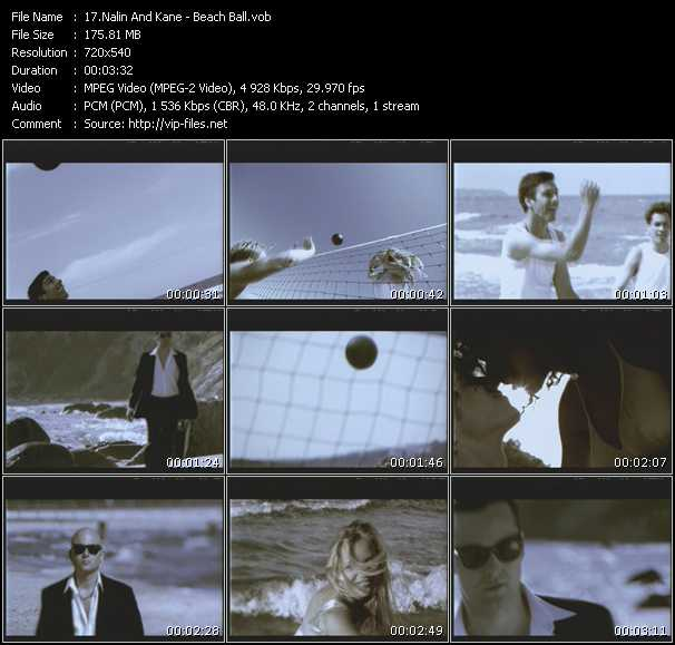Screenshot of Music Video Nalin And Kane - Beach Ball