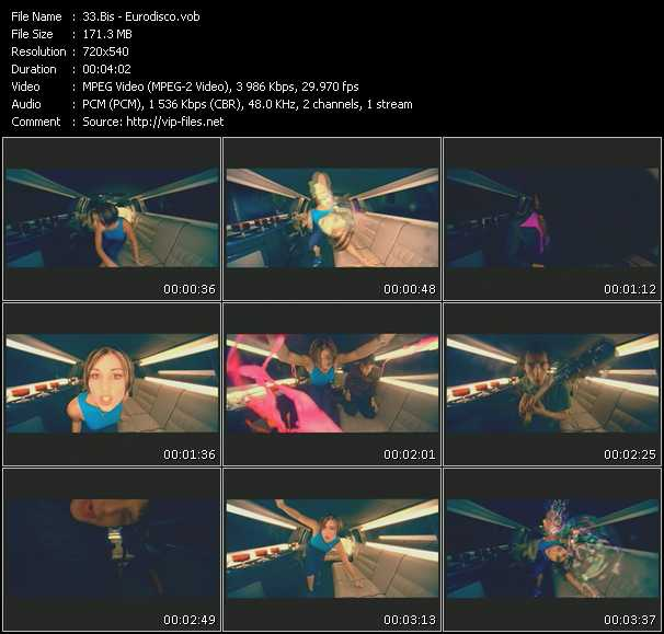 Screenshot of Music Video Bis - Eurodisco