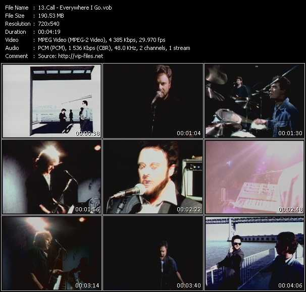 Screenshot of Music Video Call - Everywhere I Go