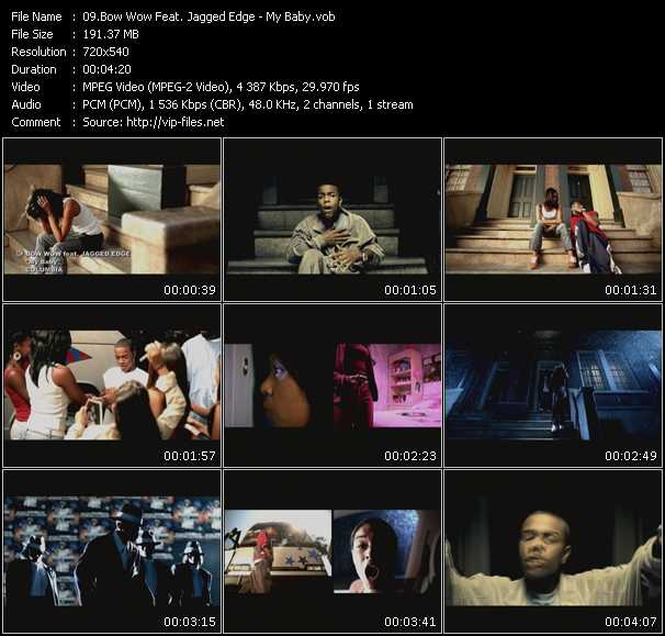 Screenshot of Music Video Bow Wow Feat. Jagged Edge - My Baby