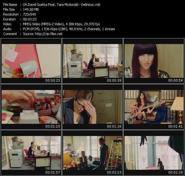 David Guetta Feat. Tara McDonald video vob