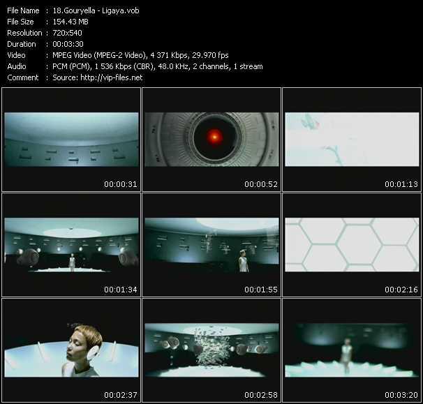Screenshot of Music Video Gouryella - Ligaya