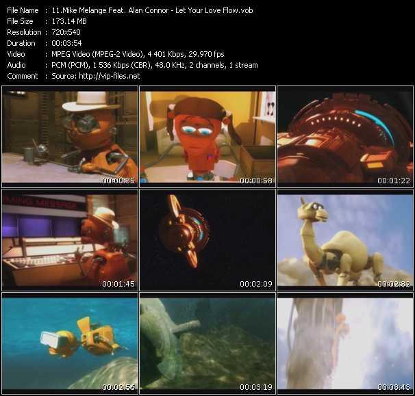 Mike Melange Feat. Alan Connor video vob