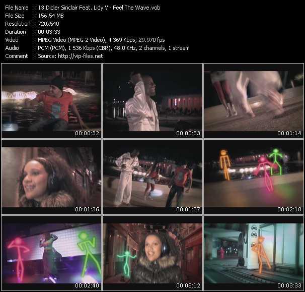 Didier Sinclair Feat. Lidy V video vob