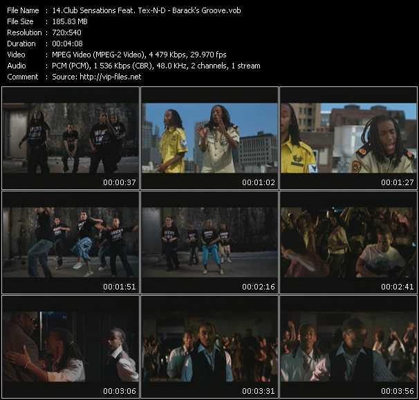 Club Sensations Feat. Tex-N-D video vob