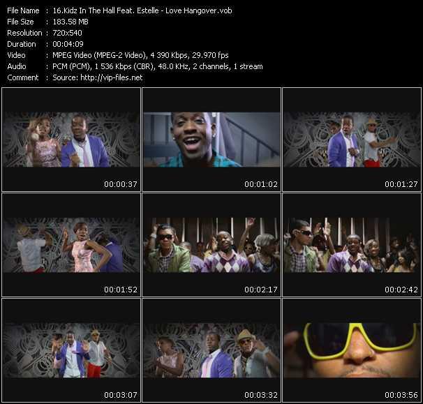 Kidz In The Hall Feat. Estelle video vob
