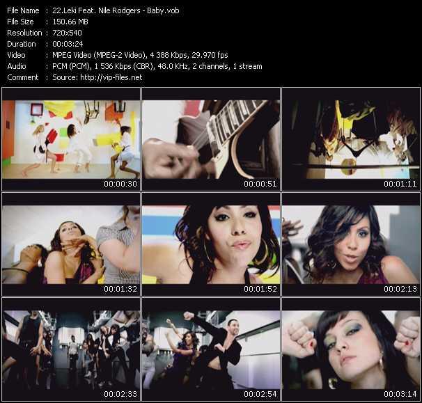 Leki Feat. Nile Rodgers video vob