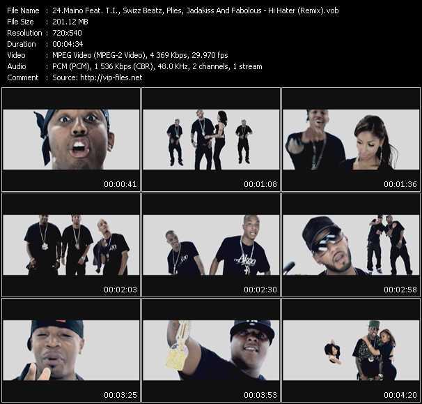 Maino Feat. T.I., Swizz Beatz, Plies, Jadakiss And Fabolous video vob