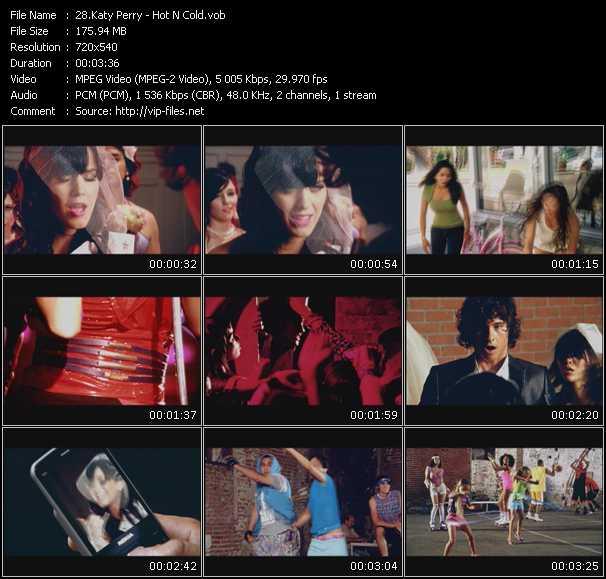 Katy Perry video vob