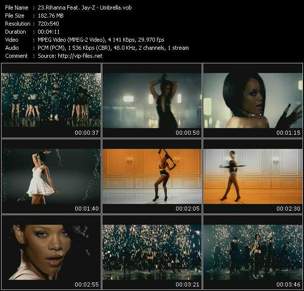 Rihanna Feat. Jay-Z video vob