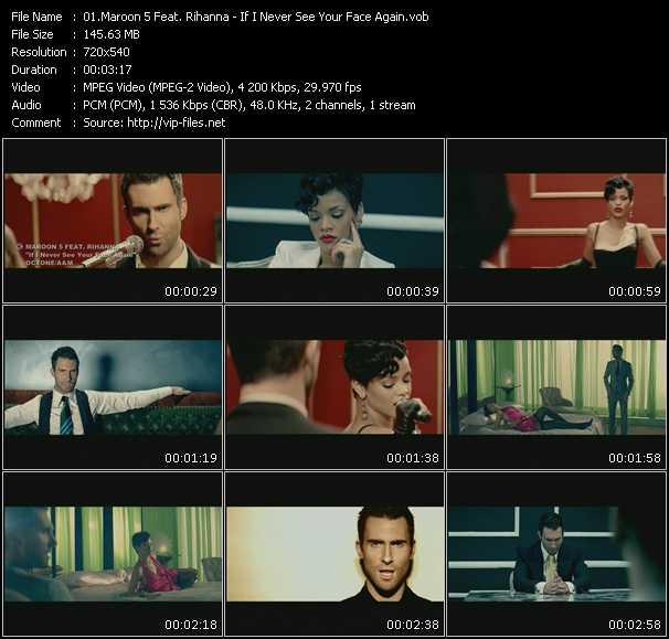 Maroon 5 Feat. Rihanna video vob