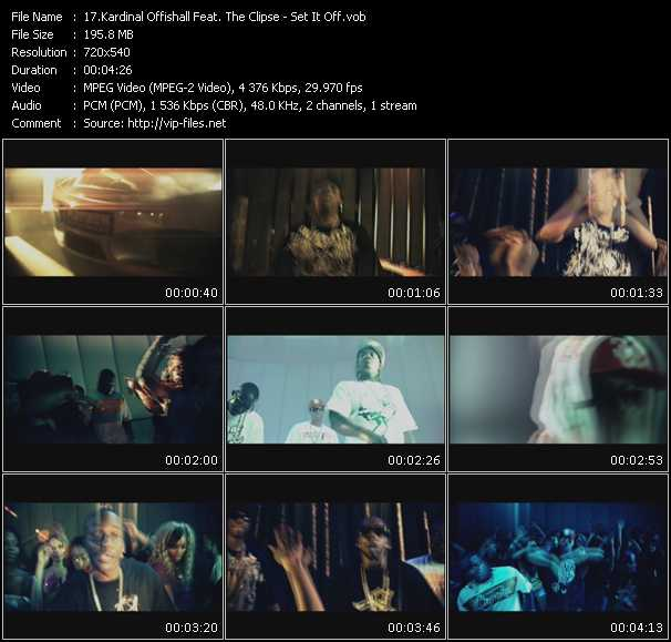 Kardinal Offishall Feat. The Clipse video vob