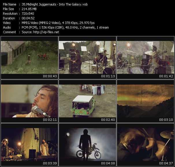 Screenshot of Music Video Midnight Juggernauts - Into The Galaxy
