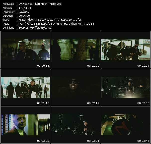 Nas Feat. Keri Hilson video vob