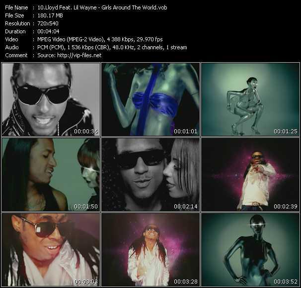 Lloyd Feat. Lil' Wayne video vob