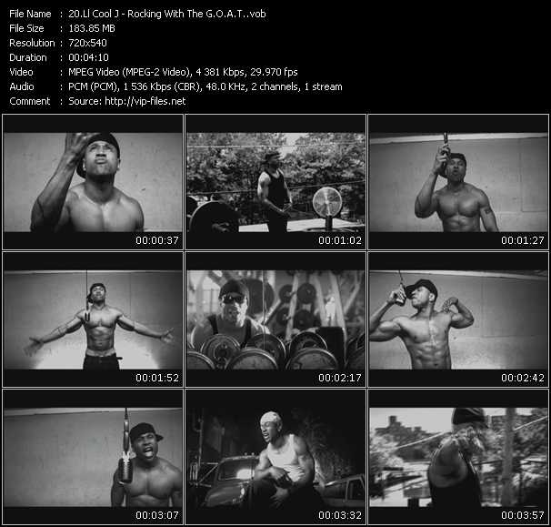 LL Cool J video vob