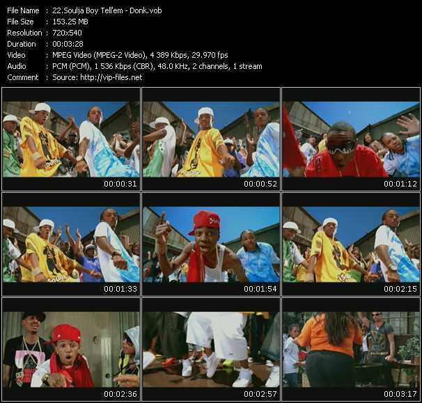 Soulja Boy Tell 'Em video vob