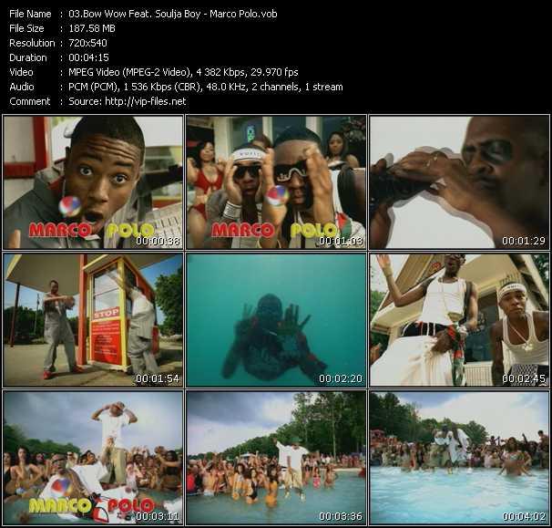 Screenshot of Music Video Bow Wow Feat. Soulja Boy Tell 'Em - Marco Polo
