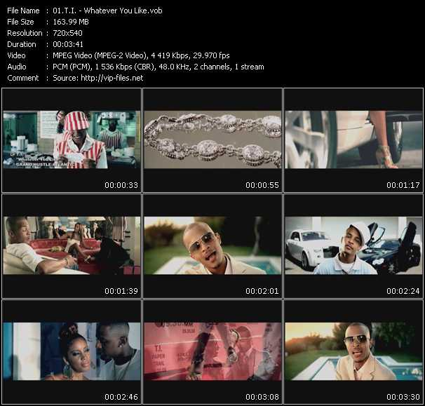 T.I. video vob