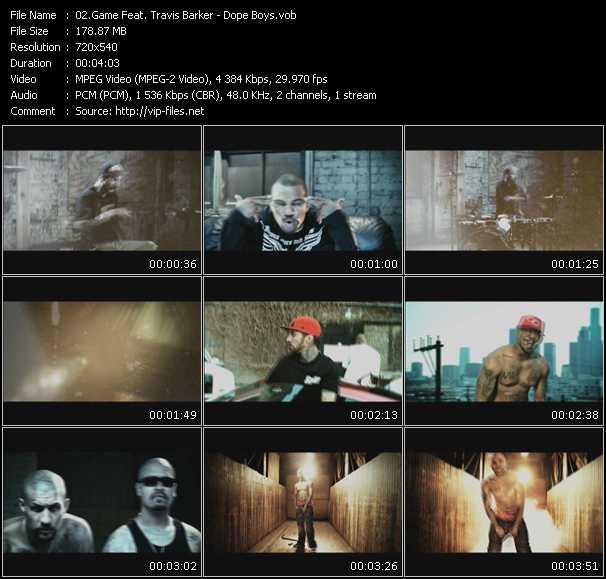 Game Feat. Travis Barker video vob