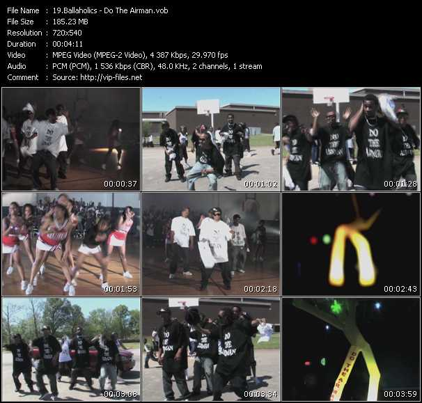 Screenshot of Music Video Ballaholics - Do The Airman