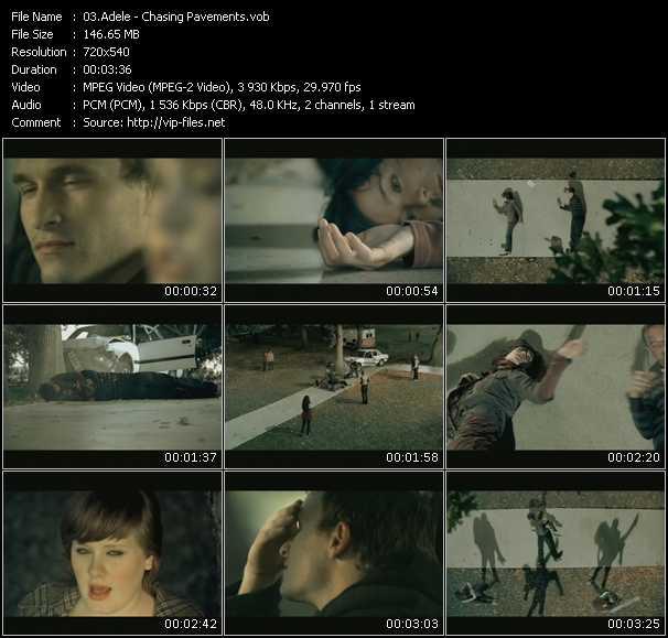 Adele video vob