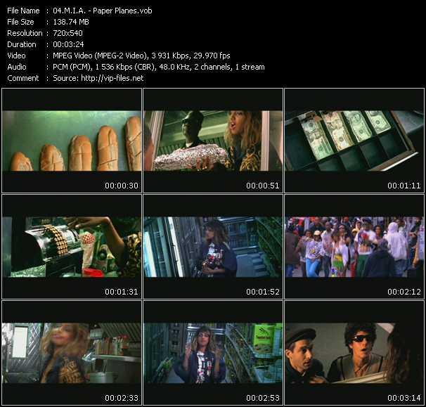M.I.A. video vob