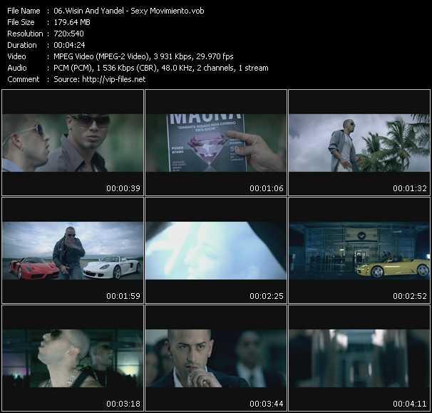 Wisin And Yandel video vob