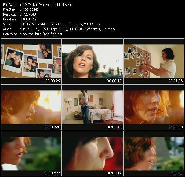 Screenshot of Music Video Tristan Prettyman - Madly