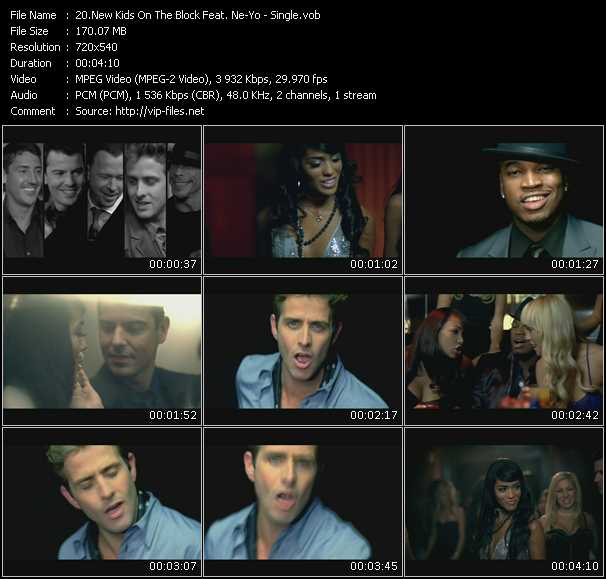 Screenshot of Music Video New Kids On The Block Feat. Ne-Yo - Single