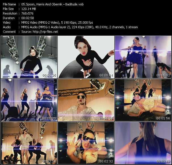 Screenshot of Music Video Spoon, Harris And Obernik (Dave Spoon And Paul Harris Feat. Sam Obernik) - Baditude