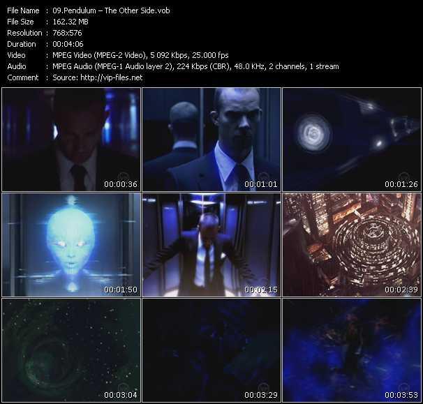 Screenshot of Music Video Pendulum - The Other Side