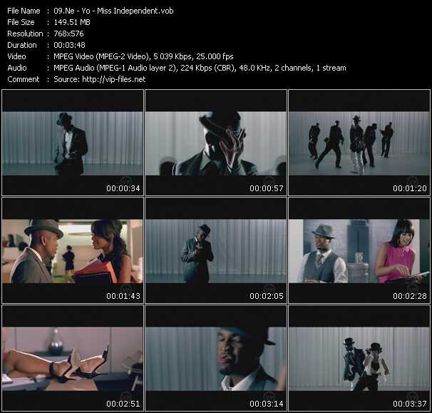 Screenshot of Music Video Ne-Yo - Miss Independent