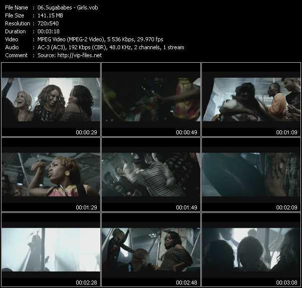 Sugababes video vob